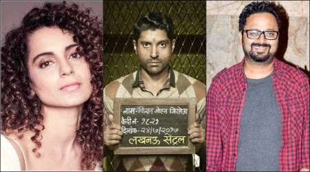 kangana ranaut, farhan akhtar, nikkhil advani, lucknow central, entertainment news, indian express news