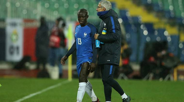 N'Golo Kante ruled out of France's final 2018 FIFA World Cupqualifier