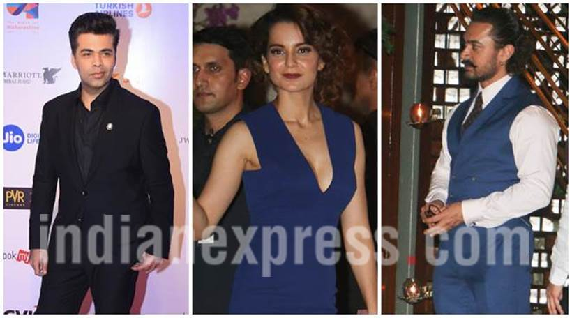 Karan Johar, Kangana Ranaut, Aamir Khan, Mukesh Ambani party, Mukesh Ambani party PHOTOS