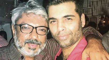 Karan Johar on Padmavati director Sanjay Leela Bhansali: His sense of visualisation is the best in country