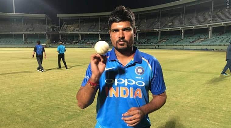 Karn Sharma, Shardul Thakur, India 'A' vs New Zealand 'A', Rishabh Pant, sports news, cricket, Indian Express