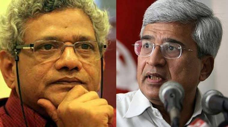 Sitaram Yechury, Prakash Karat, CPIM and Congress alliance, 2019 Lok Sabha elections, Indian Express