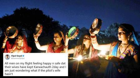 Karwa Chauth 2017: Twitterati celebrate Karva Chauth with hilarious memes and jokes