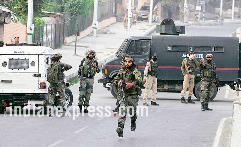 JK: Search operation launched after gunshots heard in Pulwama
