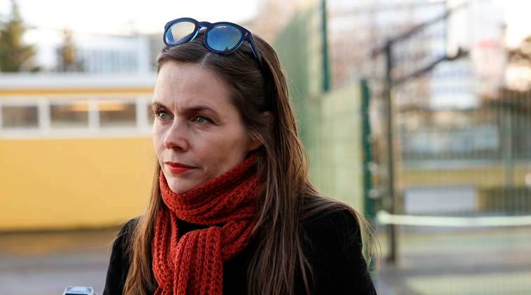 Iceland, Iceland elections, Iceland opposition leader, Katrin Jakobsdottir, world news, indian express news