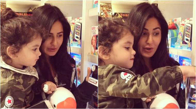 katrina kaif, tiger zinda hai, katrina kaif cute video, katrina kaif photos, katrina kaif kid, katrina kaif children, katrina kaif images