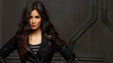Katrina Kaif sizzles in a biker jacket and we can't get over it; see pics