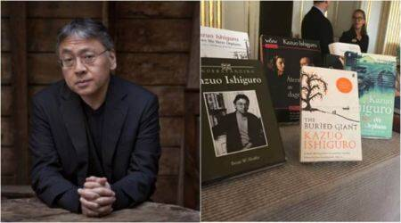 Kazuo Ishiguro, Kazuo Ishiguro Nobel Prize, Nobel Prize in literature, Kazuo Ishiguro Nobel Prize 2017, #NobelPrize, #Nobelpeaceprizeliterature, #nobelprize2017, Never Let Me Go Kazuo Ishiguro, Kazuo Ishiguro The Remains of the Day, Kazuo Ishiguro The Buried Giant, indian express, indian express