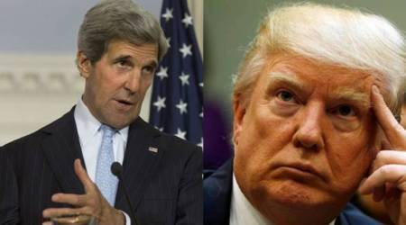 John Kerry condemns Donald Trump's 'dangerous' Iran deal decision