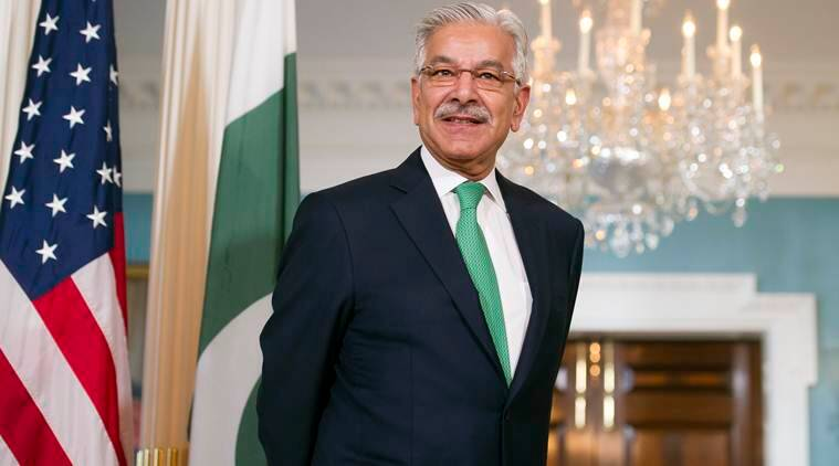 Khawaja Asif, pakistan, US, pakistan, us, Doanld Trump pakistan remark, Khawaja Asif, funds for fighting terror, pakistan us remark, pakistan afghanistan attacks, pakistan news, indian express news