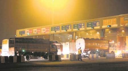 Toll collection at Sadahalli toll plaza towards Bengaluru airportbegins