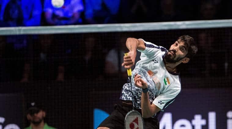 Kidambi Srikanth, Srikanth, French Open, Badminton news, Indian Express
