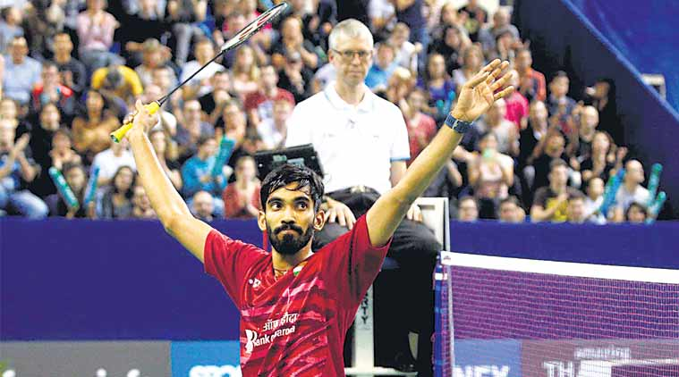 Kidambi Srikanth, Kidambi Srikanth wins French Open Super Series, Srikanth, French Open Super Series, denmark open, Badminton news, Indian express
