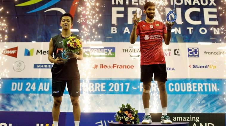 Kidambi Srikanth, Srikanth, French Open Super Series, French Open, Badminton news, Indian express