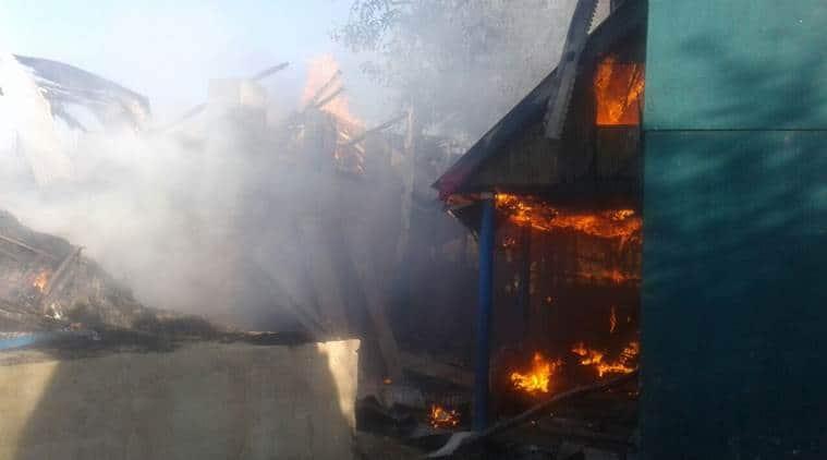 kashmir sarpanch killed, PDP, kashmir sarpanch house burnt,