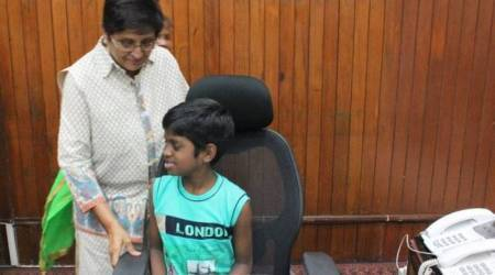 Puducherry boy gets to sits on Lt Governor's chair during Raj Nivas visit