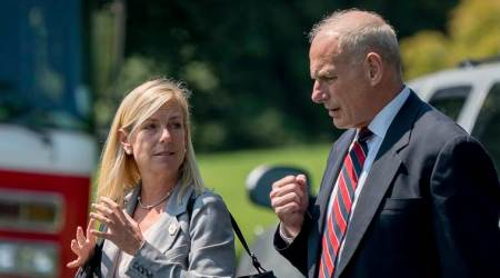 Donald Trump nominates White House aide Kirstjen Nielsen for homeland security post