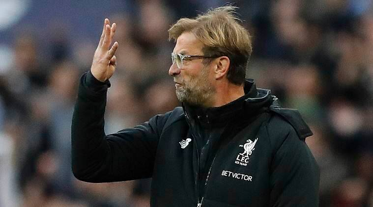 Jurgen Klopp S Defence Crumbles At Spurs In Front Of Diego Maradona Sports News The Indian Express