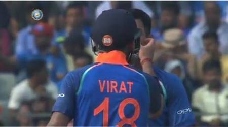 Virat Kohli's 'Bromance' moment with MS Dhoni goes viral on social media, watch video