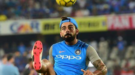 On football field I'm Cristiano Ronaldo in my head, says Virat Kohli
