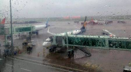 Air traffic disrupted by heavy rains, winds in Kolkata