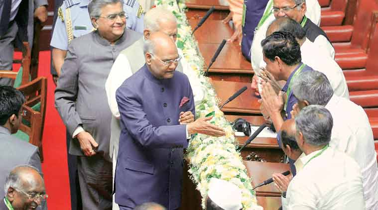 Tipu Sultan, ram nath Kovind, Ram nath Kovind on Tipu sultan, Tipu jayanti, Tipu jayanti celebrations, karnataka, Karnataka assembly, BJP, BJP Tipu sultan, Karnataka CM, Siddaramaiah, India news, indian express news