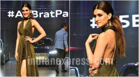 Kriti Sanon dazzles in a shimmery outfit, seepics