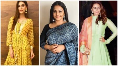 Kriti Sanon, Vidya Balan or Huma Qureshi: Who nailed the ethnic look better?