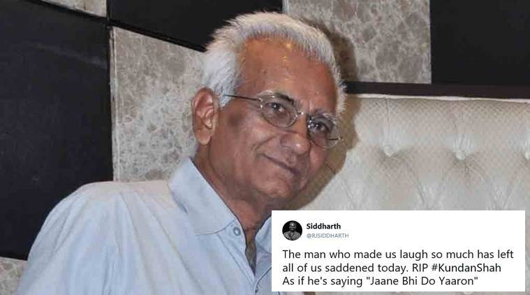 Veteran filmmaker Kundan Shah passes away
