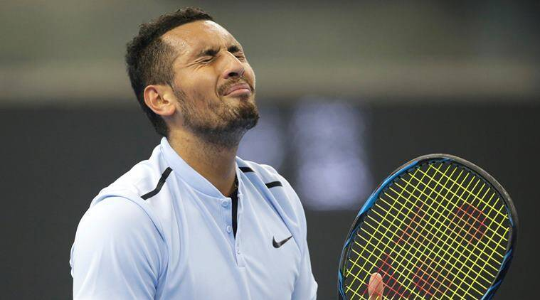 Nick Kyrgios, Nick Kyrgios Australia, Nick Kyrgios fined, sports news, tennis, Indian Express