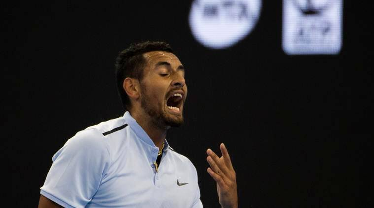 Nick Kyrgios, Nick Kyrgios quit, Shanghai Masters, Shanghai Masters schedule, sports news, tennis, Indian Express