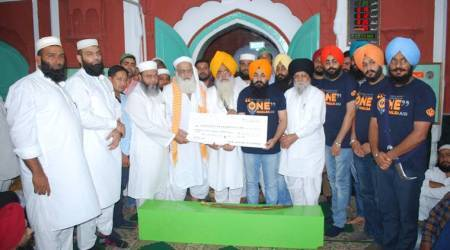 Langar for Rohingya refugees : Ludhiana mosque, gurudwara donate money to Sikh volunteers, call it 'service for humanity'