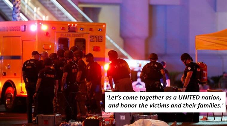 las vegas, las vegas shooting, police officer writes about las vegas shooting, emotional post by las vegas police officer, indian express, indian express news