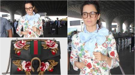 Kangana Ranaut's Gucci bag will cost you a small fortune; see pics