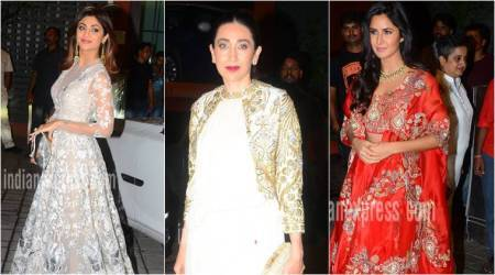 Shilpa Shetty, Karisma Kapoor, Katrina Kaif: Best dressed celebrities at Arpita Khan's Diwali bash