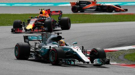 Lewis Hamilton on the hunt despite F1 title lead