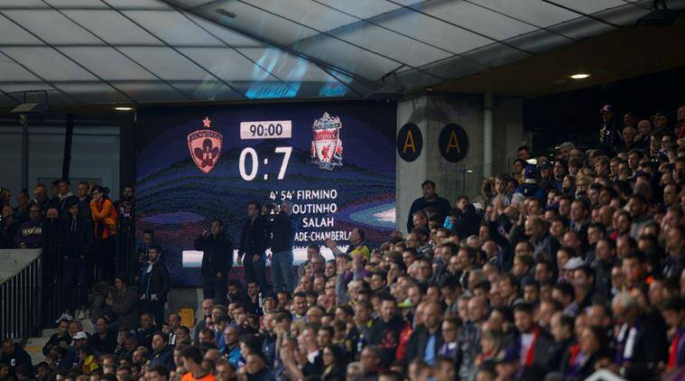 maribor vs liverpool, liverpool fc, maribor vs liverpool highlights, champions league scores, ucl, football news, indian express