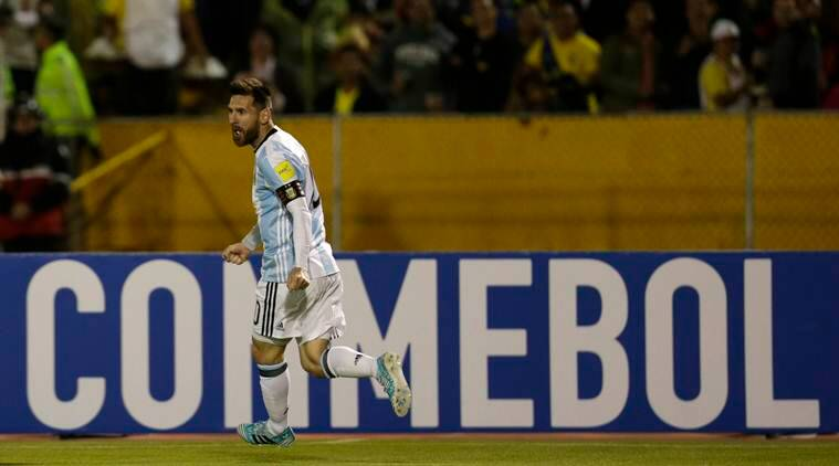 Lionel Messi putting Argentina's World Cup hopes on his back