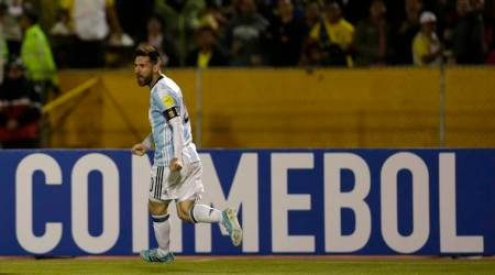 Lionel Messi hat-trick: Watch Argentina star's three goals against Ecuador