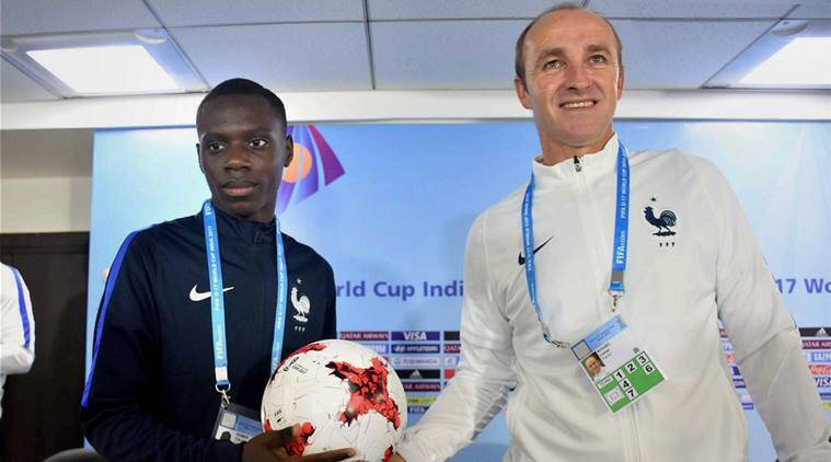 FIFA U-17 World Cup: French territory in a World Cup is great for French people, says coach LionelRouxel
