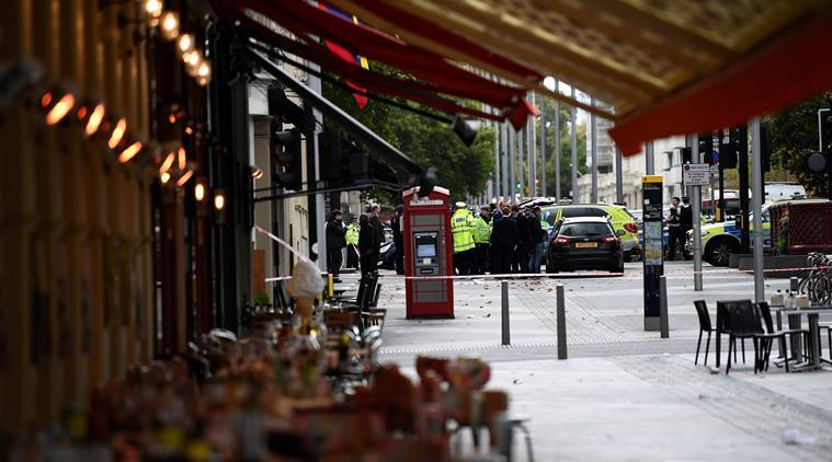 Several hurt in car incident near London's Natural History Museum; police say not terrorism-linked