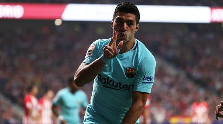 Luis Suarez, Barcelona vs Atletico Madrid, Barca vs Atleitco, Messi, La Liga, Football news, indian Express