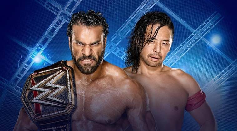 wwe hell in a cell, hell in a cell, wwe wrestling, jinder mahal