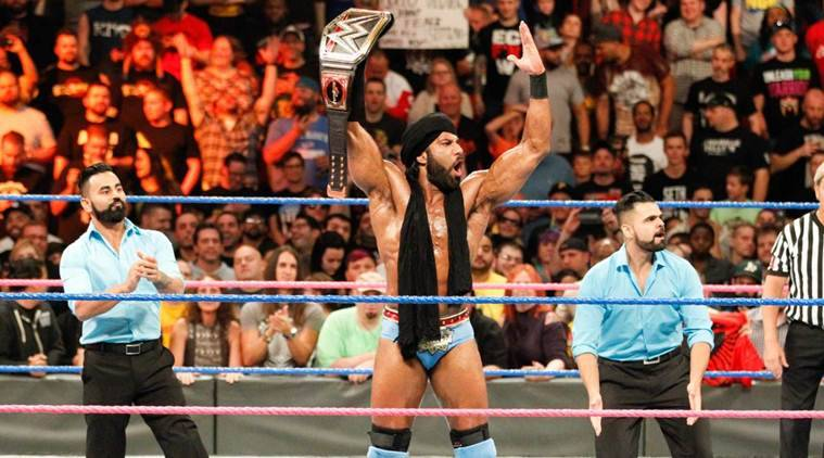 WWE Hell in A Cell 2017, Hell in a Cell results, jinder mahal
