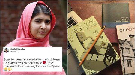 Malala Yousafzai tweets about her first Oxford lecture and ends up having a cute banter with her brother