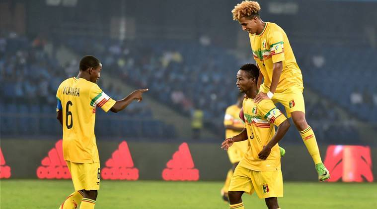 FIFA u-17 World Cup, Mali vs Iraq, Qahtan Chither, Iraq Qahtan Chither, sports news, football, Indian Express
