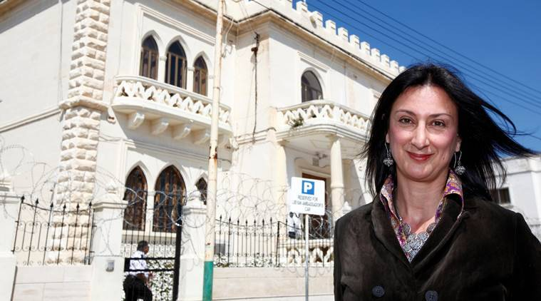 Panama papers, Panama Papers journalist killed, panama papers journalist car bomb, maltese journalist, maltese reporter, Caruana Galizia, panama papers journalist killed, world news, indian express news