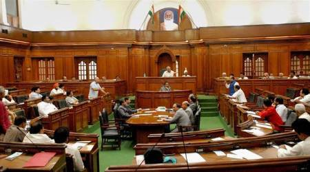 Delhi Metro fare hike: BJP MLAs marshalled out of assembly beforediscussion