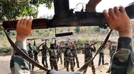 chhattisgarh maoist encounter, three maoists killed, chhattisgarh encounter, dantewada, sukma, indian express, india news