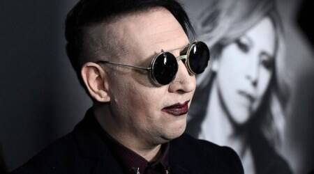 American singer Marilyn Manson injured during New Yorkconcert